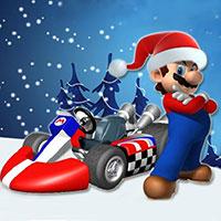 Super Mario Kart Christmas