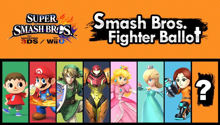 Smash Fighter Ballot