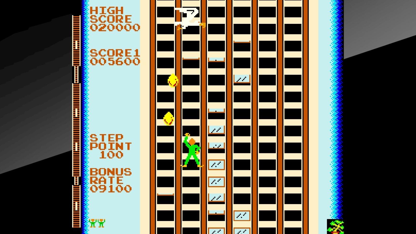 Arcade Archives CRAZY CLIMBER PS4 Review Screenshot 1