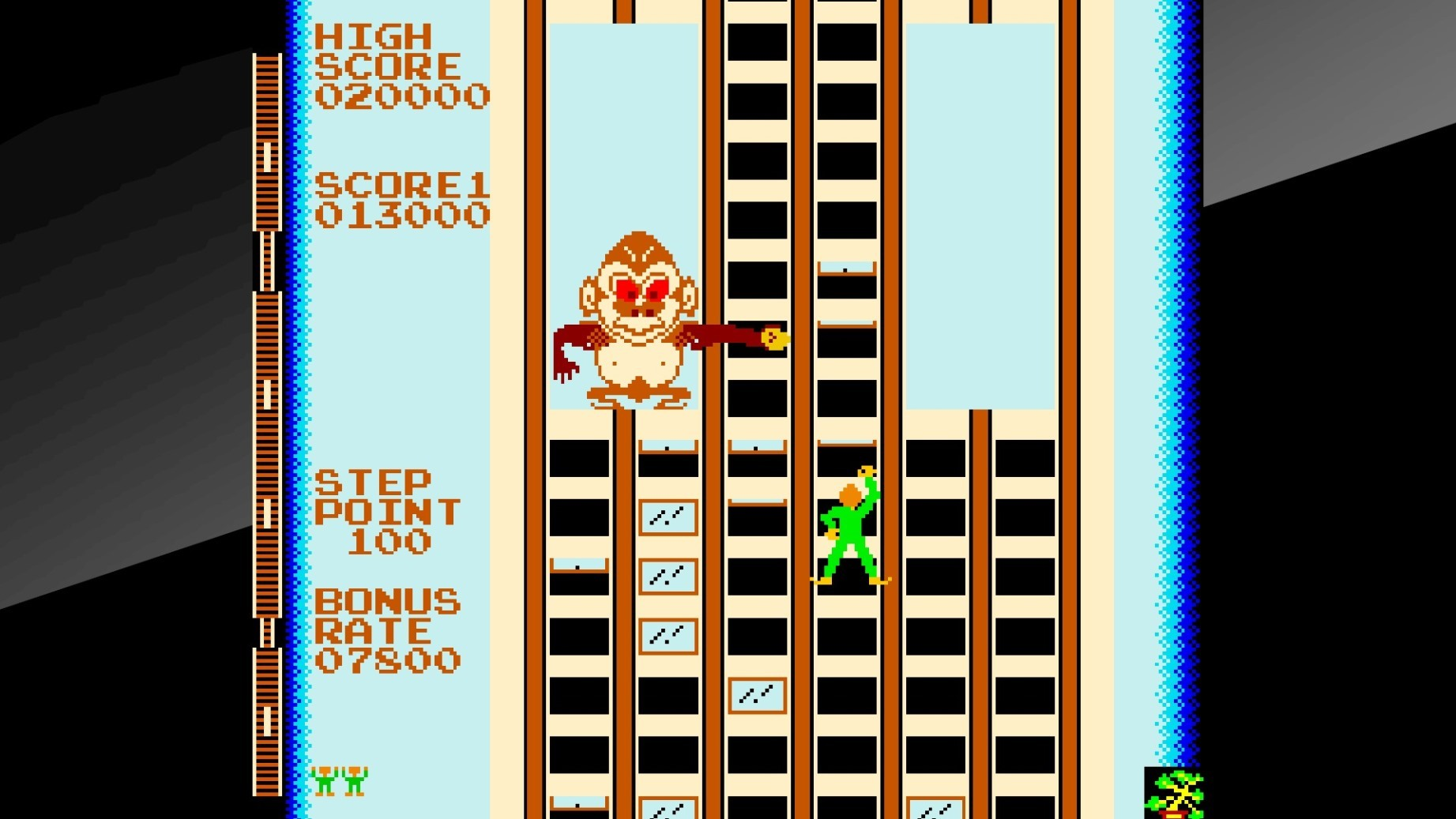 Arcade Archives CRAZY CLIMBER PS4 Review Screenshot 2