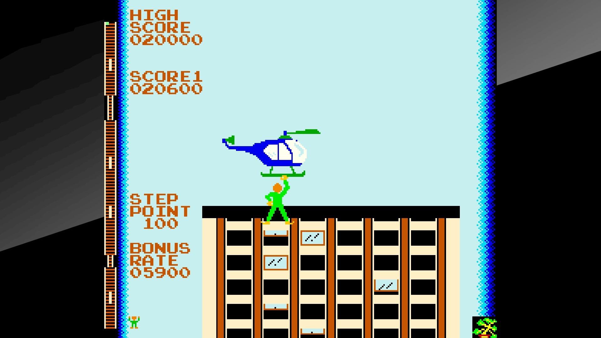 Arcade Archives CRAZY CLIMBER PS4 Review Screenshot 3