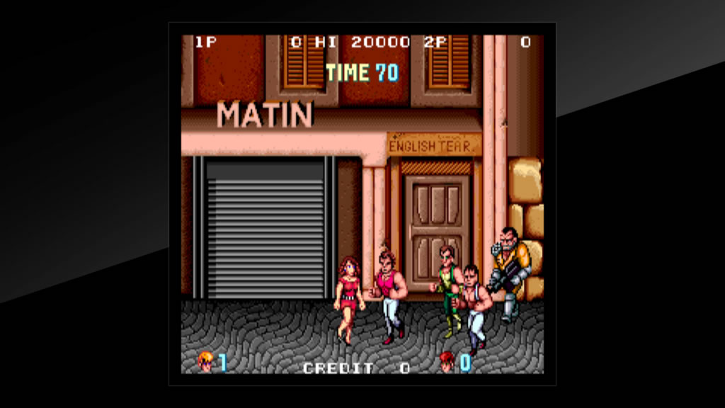 Arcade Archives DoubleDragon Review PS4 Screenshot 3