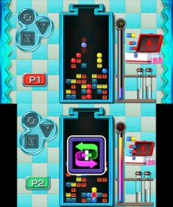 Dr. Mario Miracle Cure 3DS Review Screenshot 1