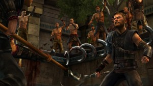 Game of Thrones Episode 5 A Nest of Vipers Pin Fight Screenshot