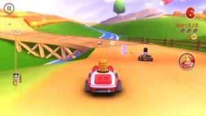 Garfield Kart Nintendo 3DS Review Screenshot 1