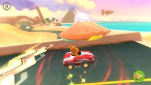 Garfield Kart Nintendo 3DS Review Screenshot 2