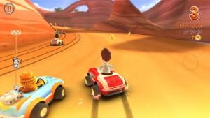 Garfield Kart Nintendo 3DS Review Screenshot 3