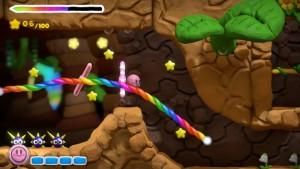 Kirby and the Rainbow Paintbrush Screenshot 1