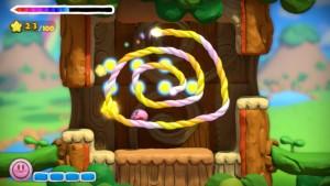 Kirby and the Rainbow Paintbrush Screenshot 2