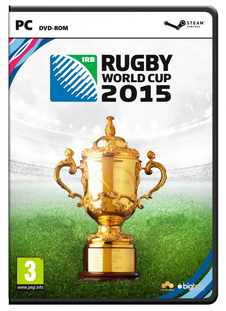 Rugby World Cup 2015 PC Cover Art