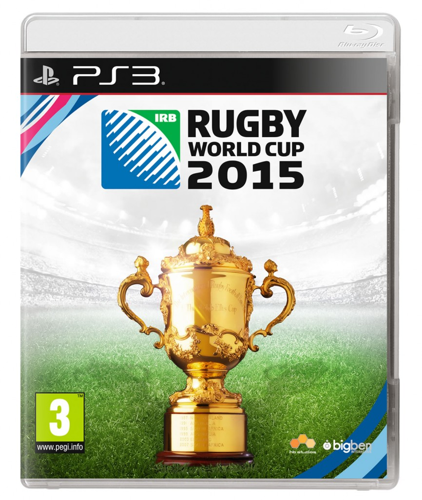 Rugby World Cup 2015 PS3 Cover Art