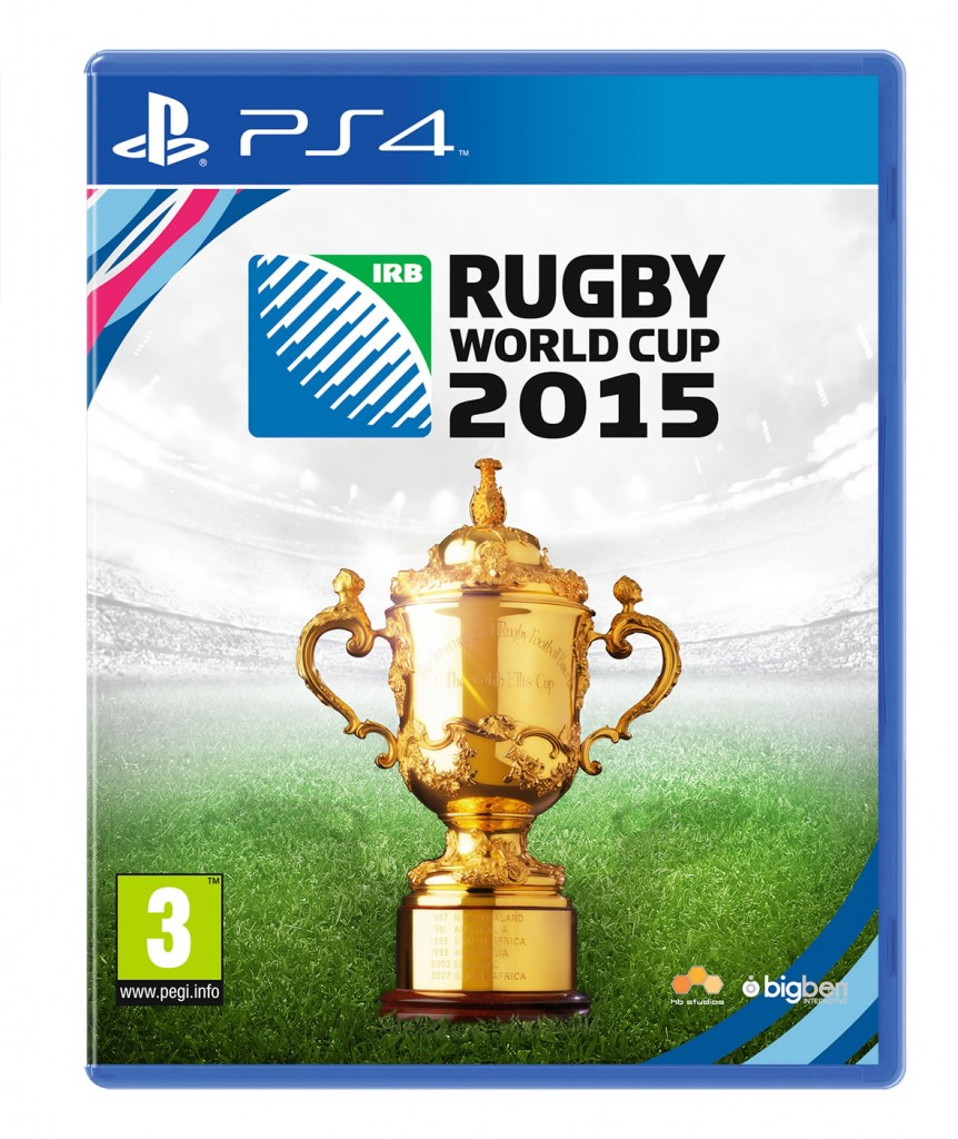 Rugby World Cup 2015 PS4 Cover Art