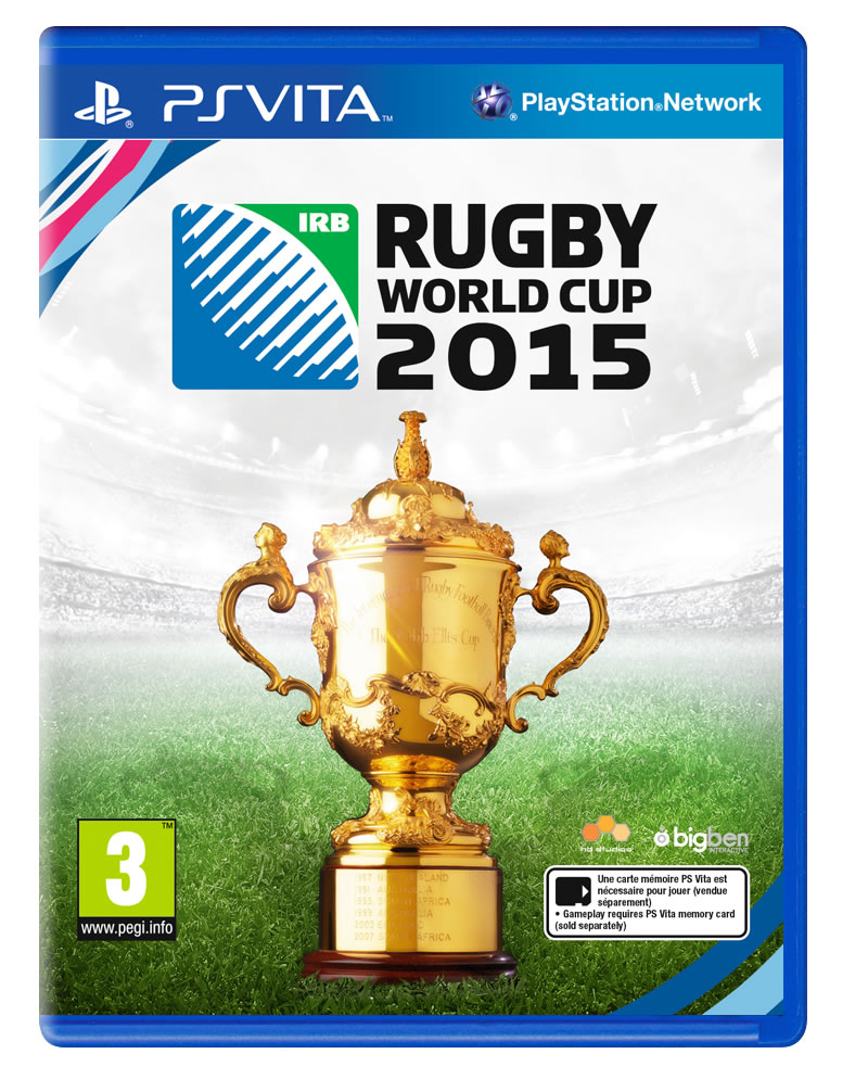 Rugby World Cup 2015 PSVita Cover Art