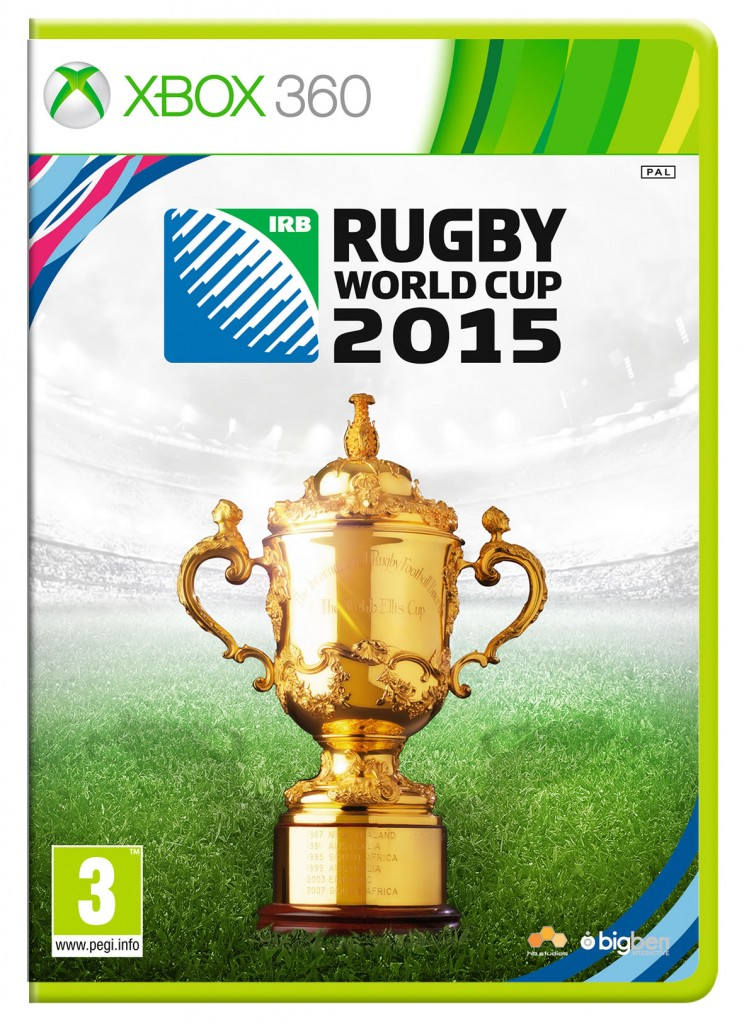 Rugby World Cup 2015 Xbox 360 Cover Art