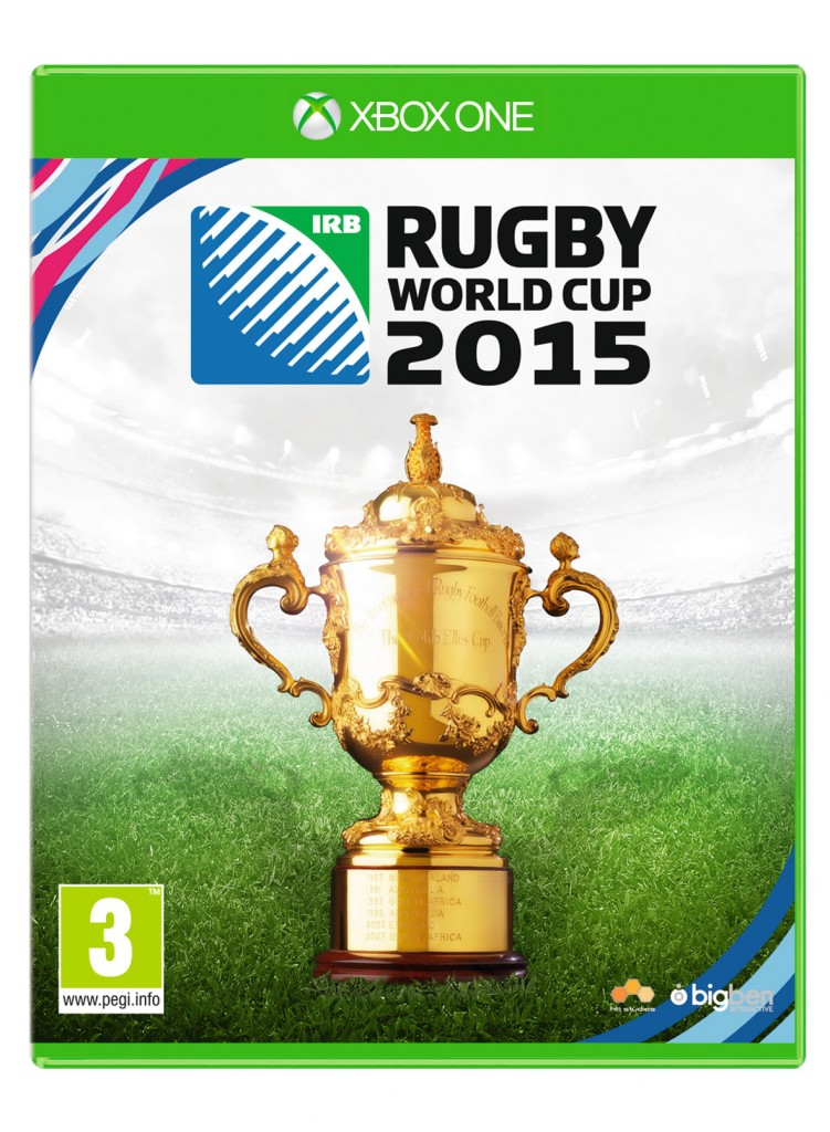 Rugby World Cup 2015 Xbox One Cover Art
