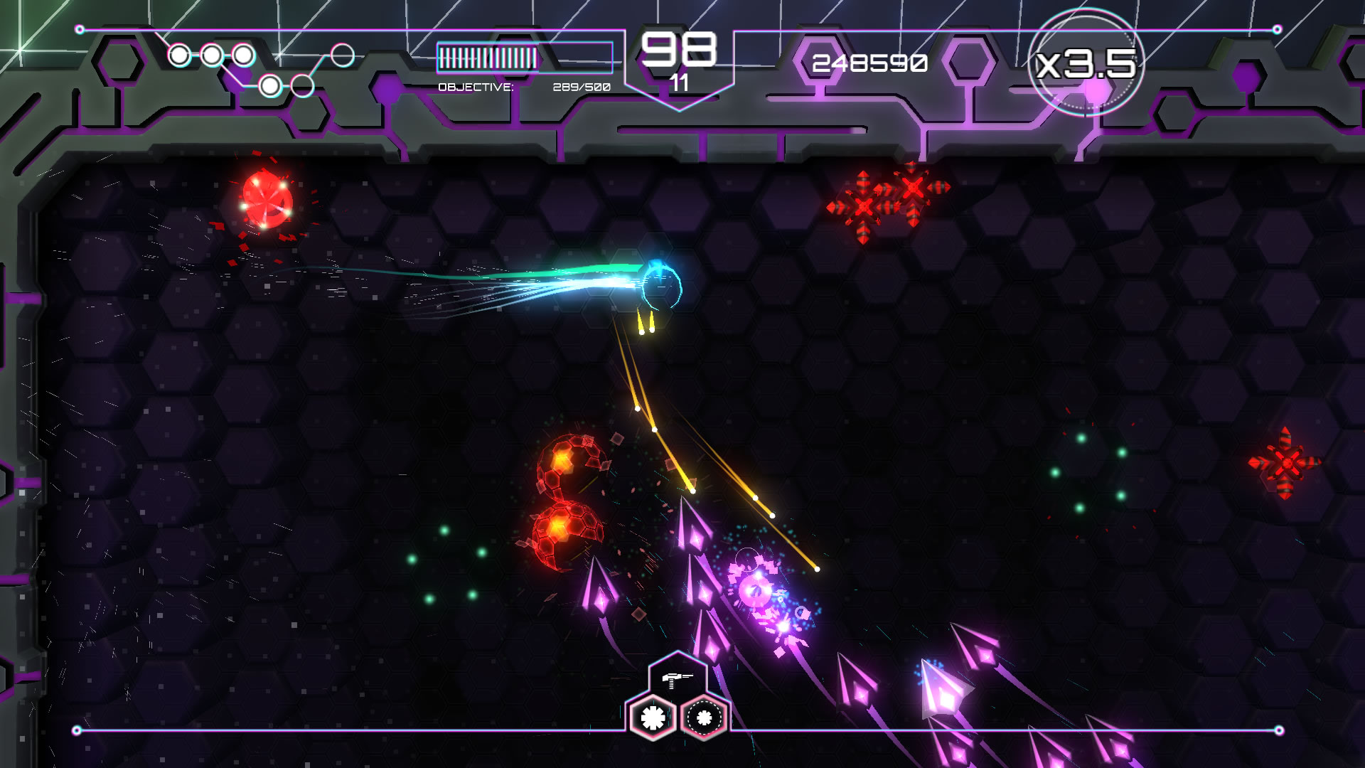 Tachyon Project Review Xbox One Screenshot 1