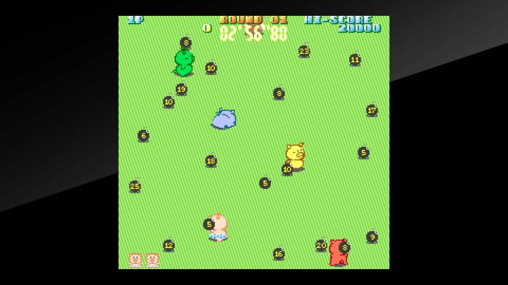 Arcade Archives Buta san Review Screenshot 1