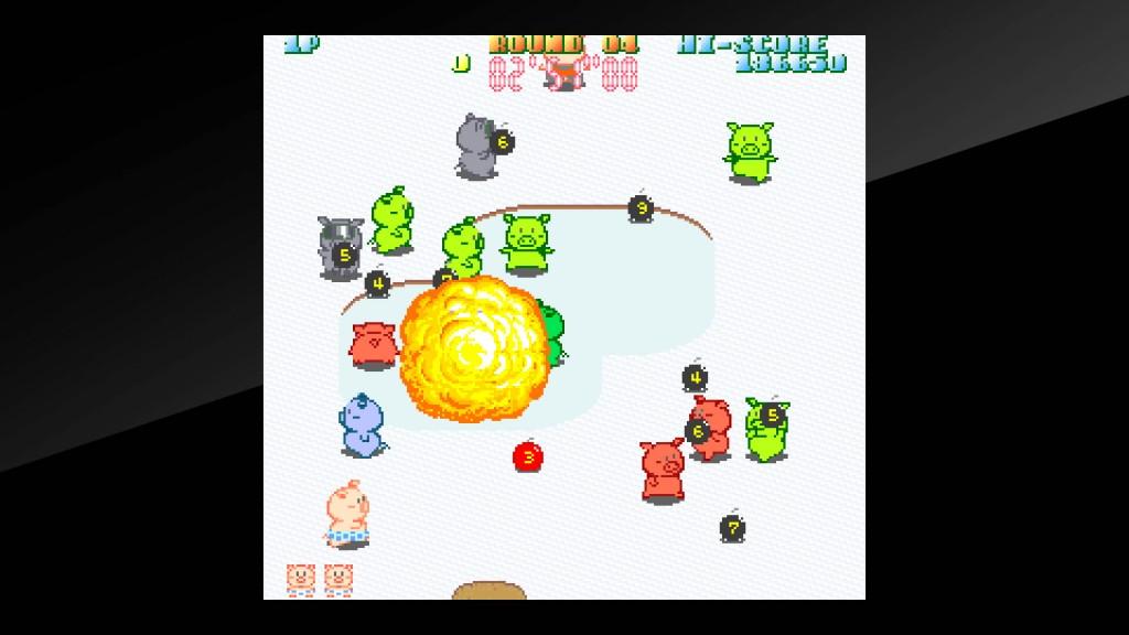 Arcade Archives Buta san Review Screenshot 2