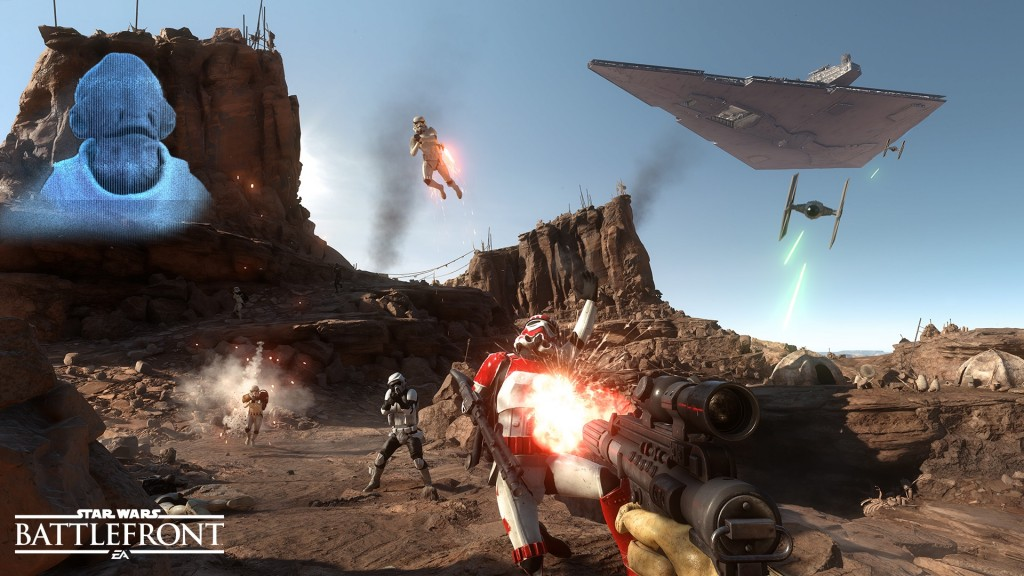 Battlefront Beta Screenshot 3