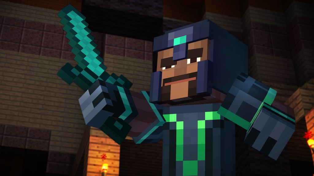 Minecraft Story Mode Episode 1 The Order of the Stone Review Screenshot 1