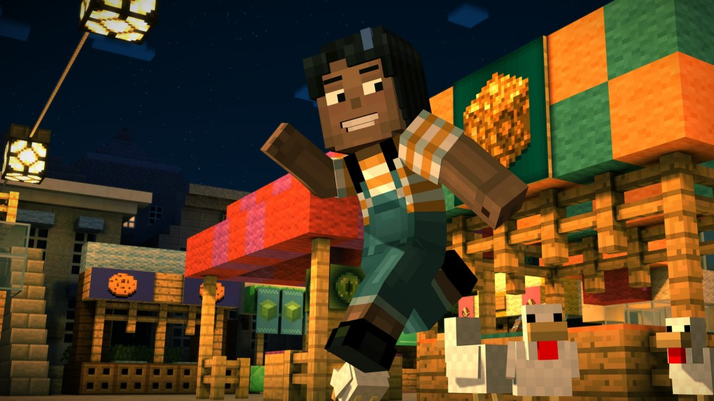 Minecraft Story Mode Episode 1 The Order of the Stone Review Screenshot 2