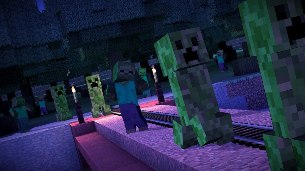 Minecraft Story Mode Episode 1 The Order of the Stone Review Screenshot 3