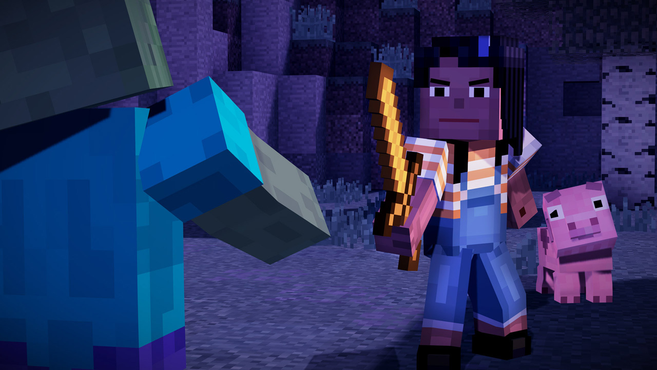 Minecraft Story Mode Episode 2 Assembly Required Review Screenshot 2