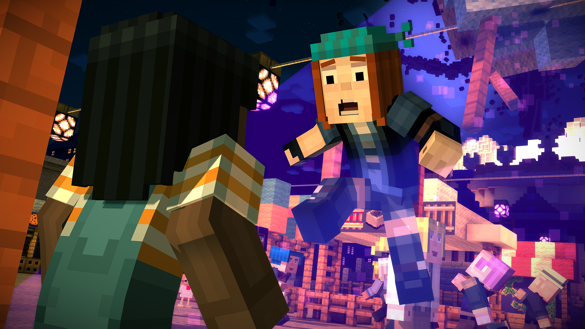 Minecraft Story Mode Episode 2 Assembly Required Review Screenshot 3