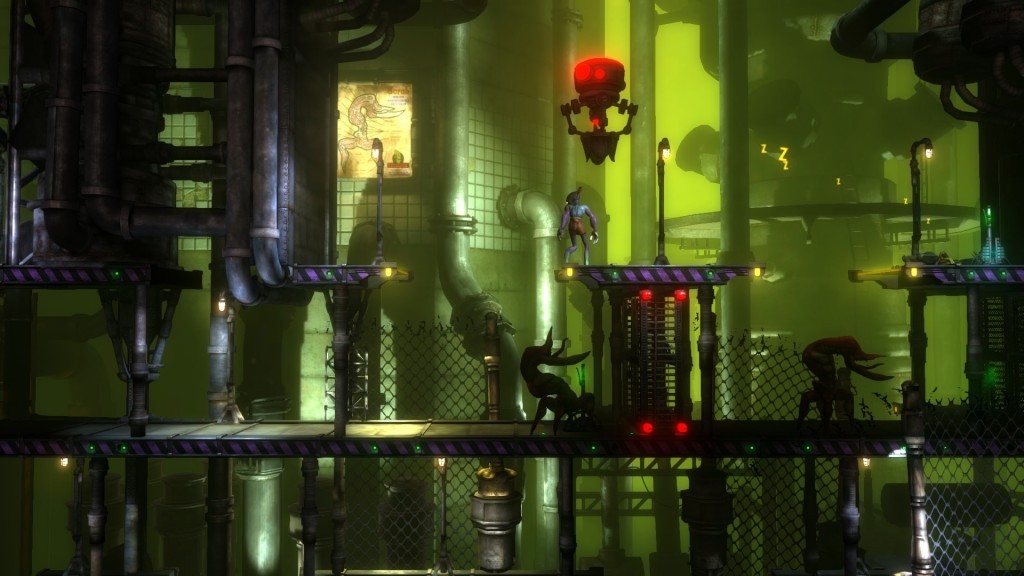 Oddworld New 'n' Tasty Alf's Escape Review Screenshot 2