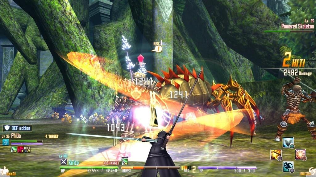 Sword Art Online Re Hollow Fragment Review Screenshot 1