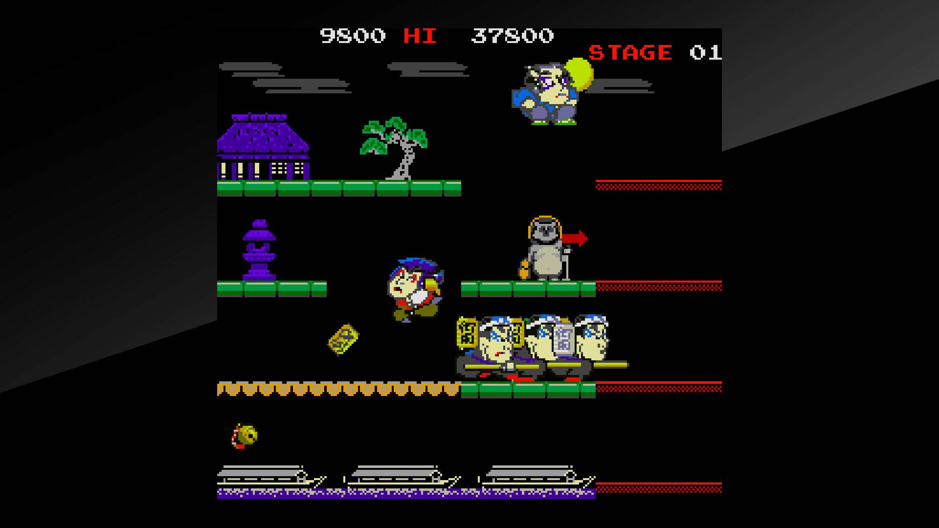 Arcade Archives Mr.GOEMON Review Screenshot 2