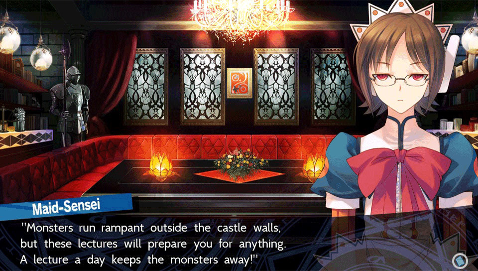 Dungeon Travelers 2 The Royal Library & The Monster Seal Review Screenshot 1
