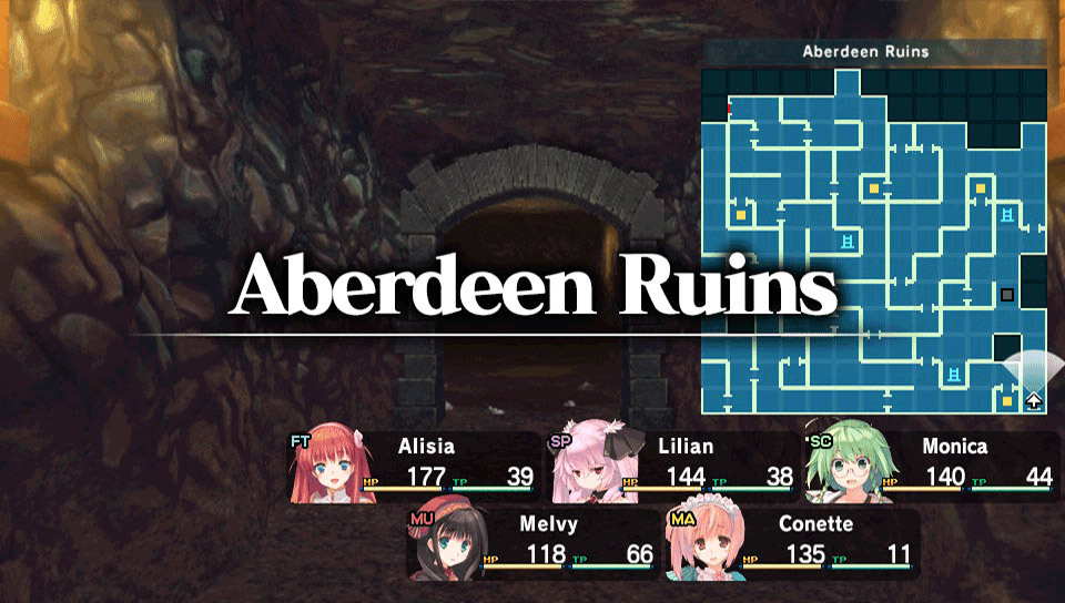 Dungeon Travelers 2 The Royal Library & The Monster Seal Review Screenshot 2