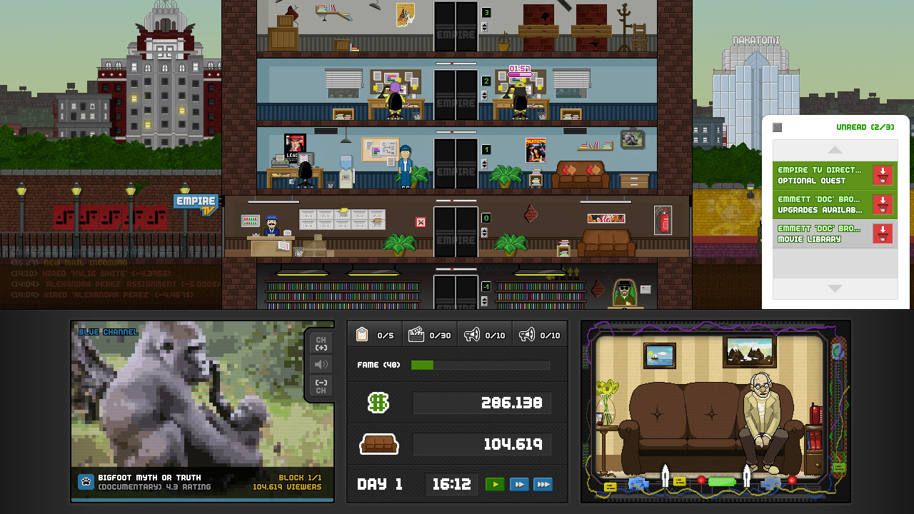 Empire TV Tycoon Review Screenshot 1