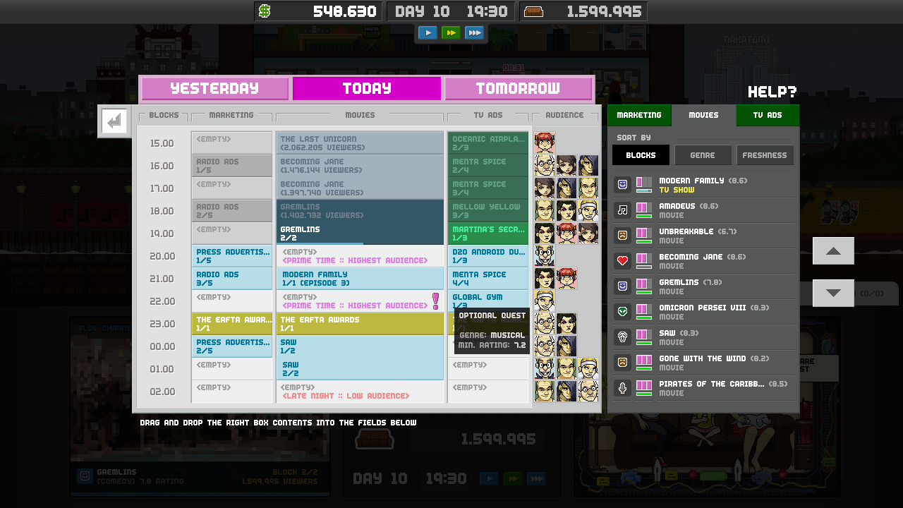 Empire TV Tycoon Review Screenshot 2