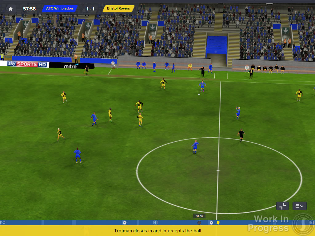 Football Manager 2016 Manager On Touchline