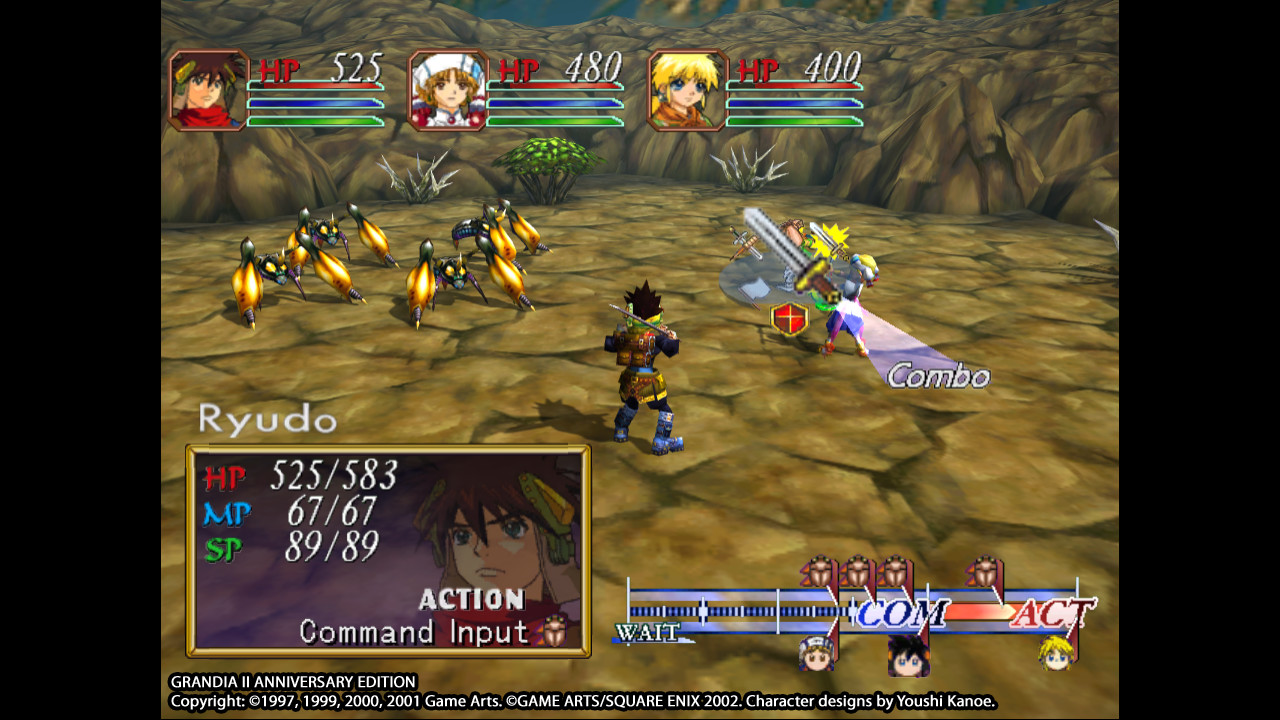 Grandia II Anniversary Edition Review Screenshot 1