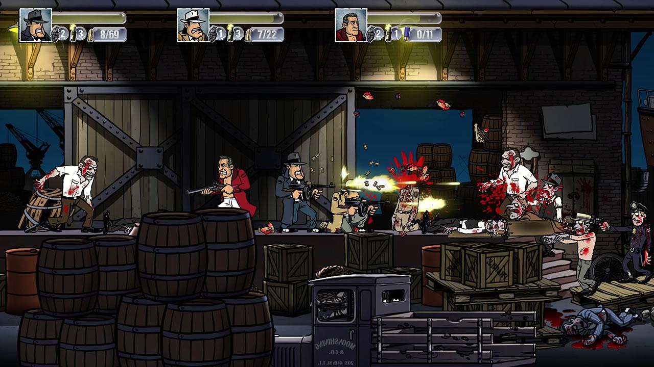 Guns, Gore & Cannoli Review Screenshot 3