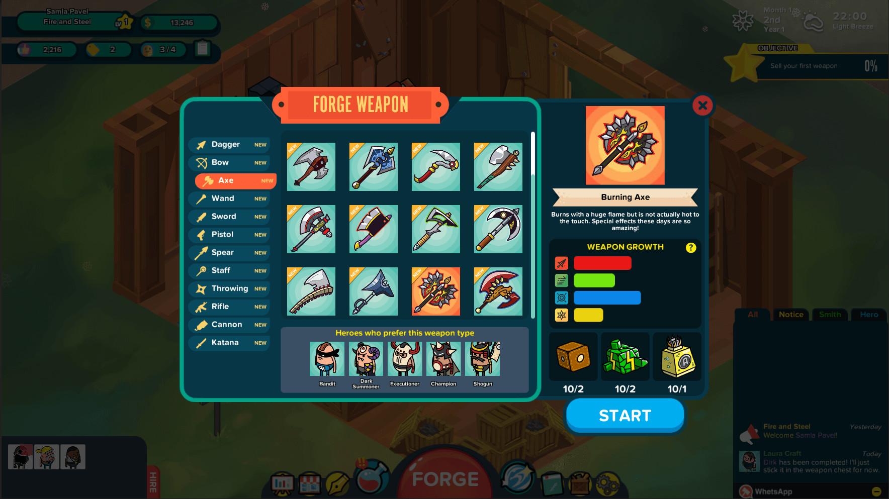 Holy Potatoes! A Weapon Shop Review Screenshot 2