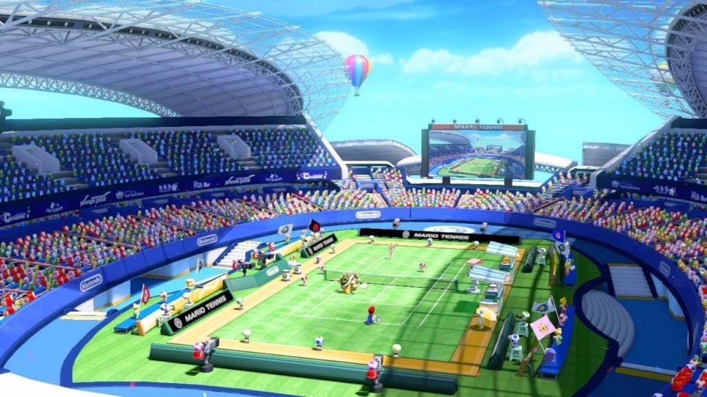 Mario Tennis Ultra Smash Review Screenshot 1