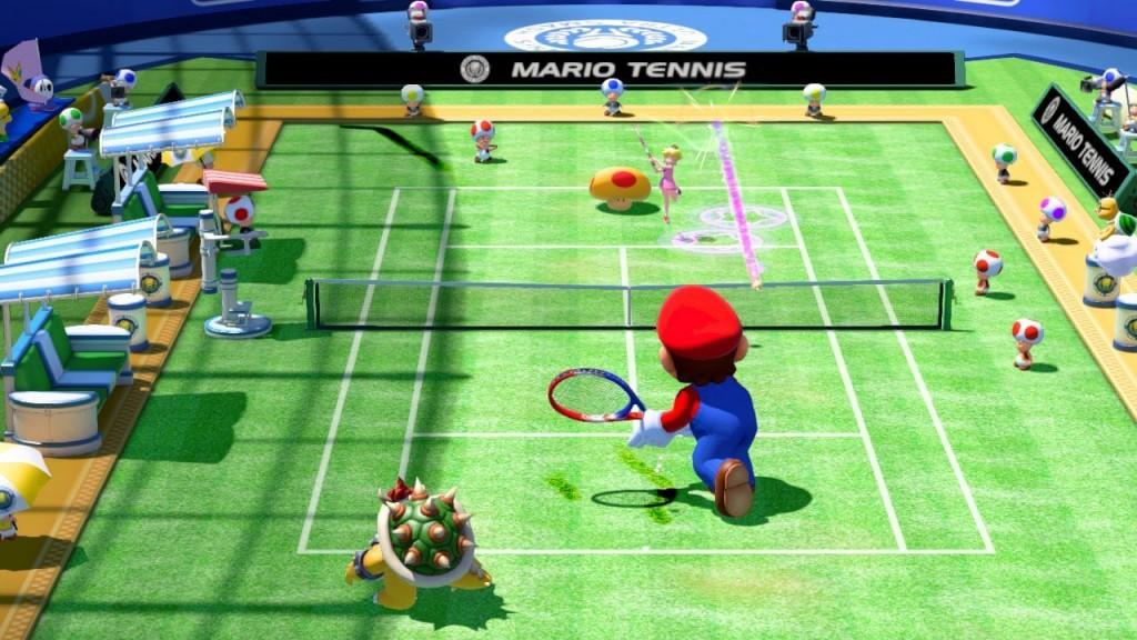 Mario Tennis Ultra Smash Review Screenshot 2