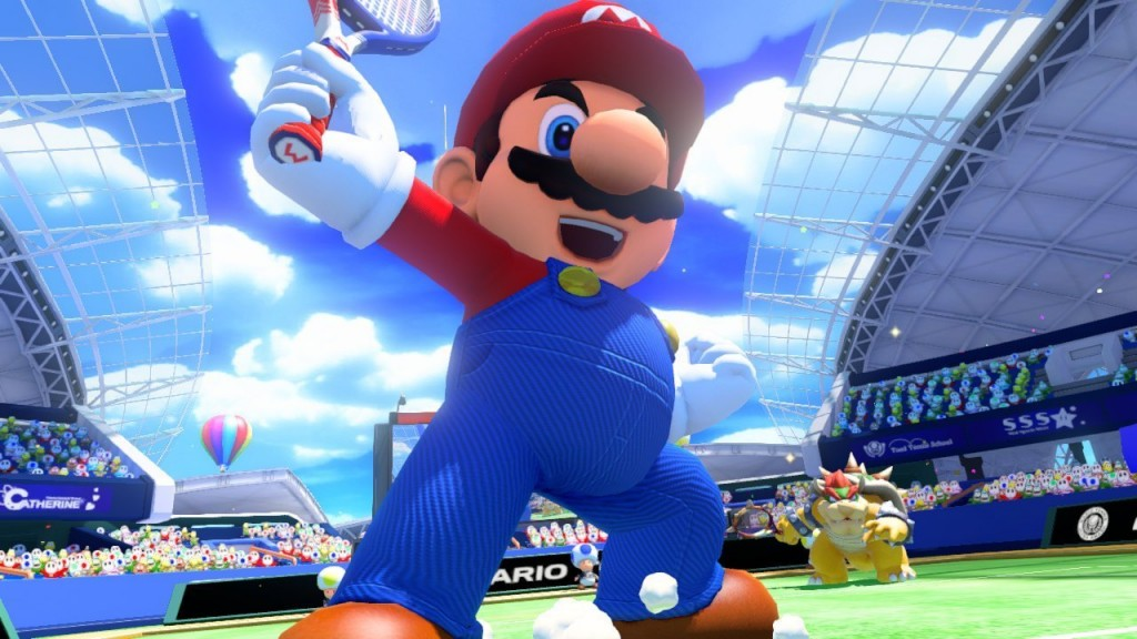 Mario Tennis Ultra Smash Review Screenshot 3