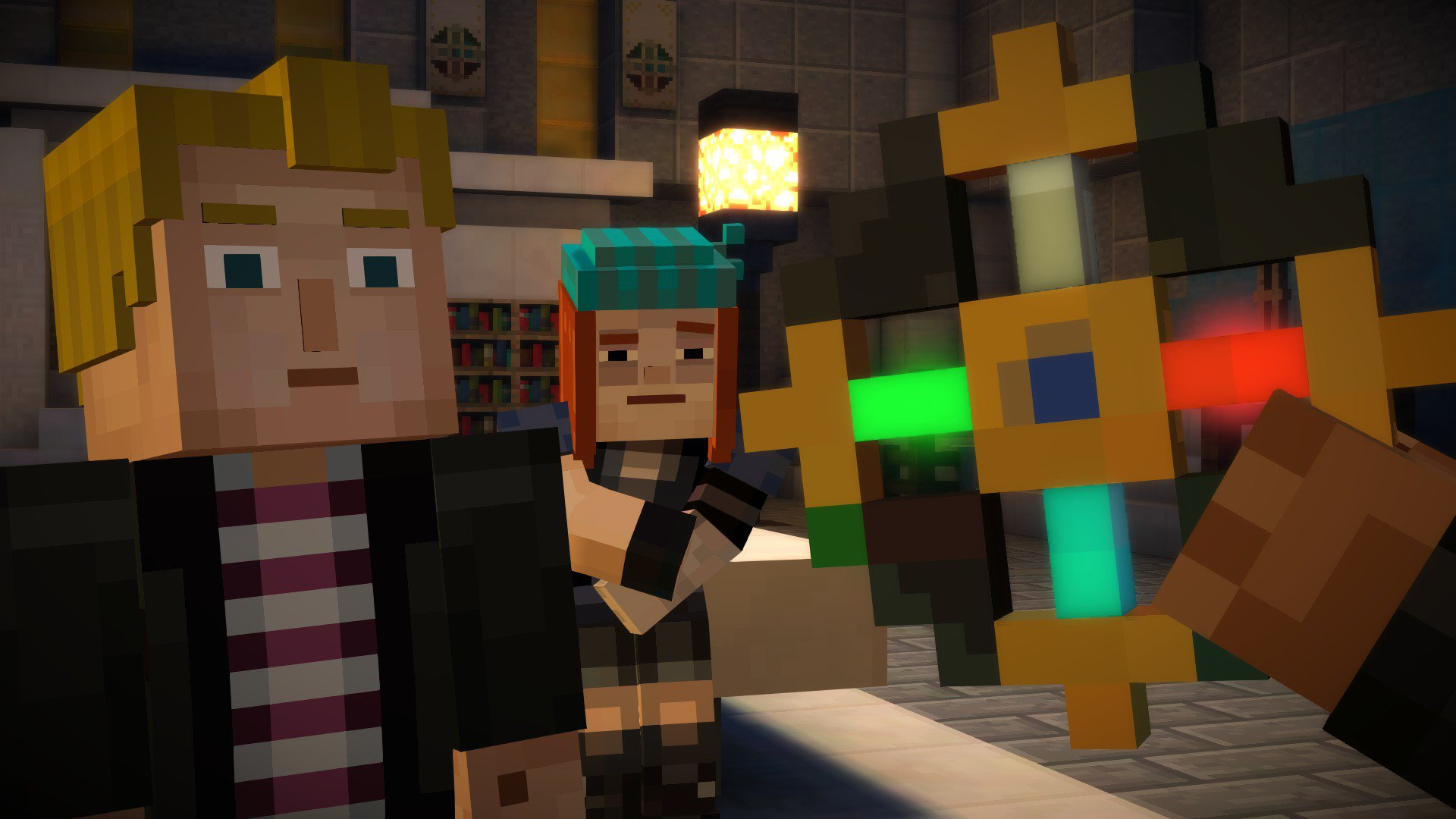 Minecraft Story Mode Episode 3 The Last Place You Look Review Screenshot 1