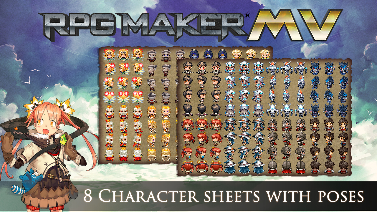 RPG Maker MV- Cover Art Characters & Essentials Set Review Screenshot 1