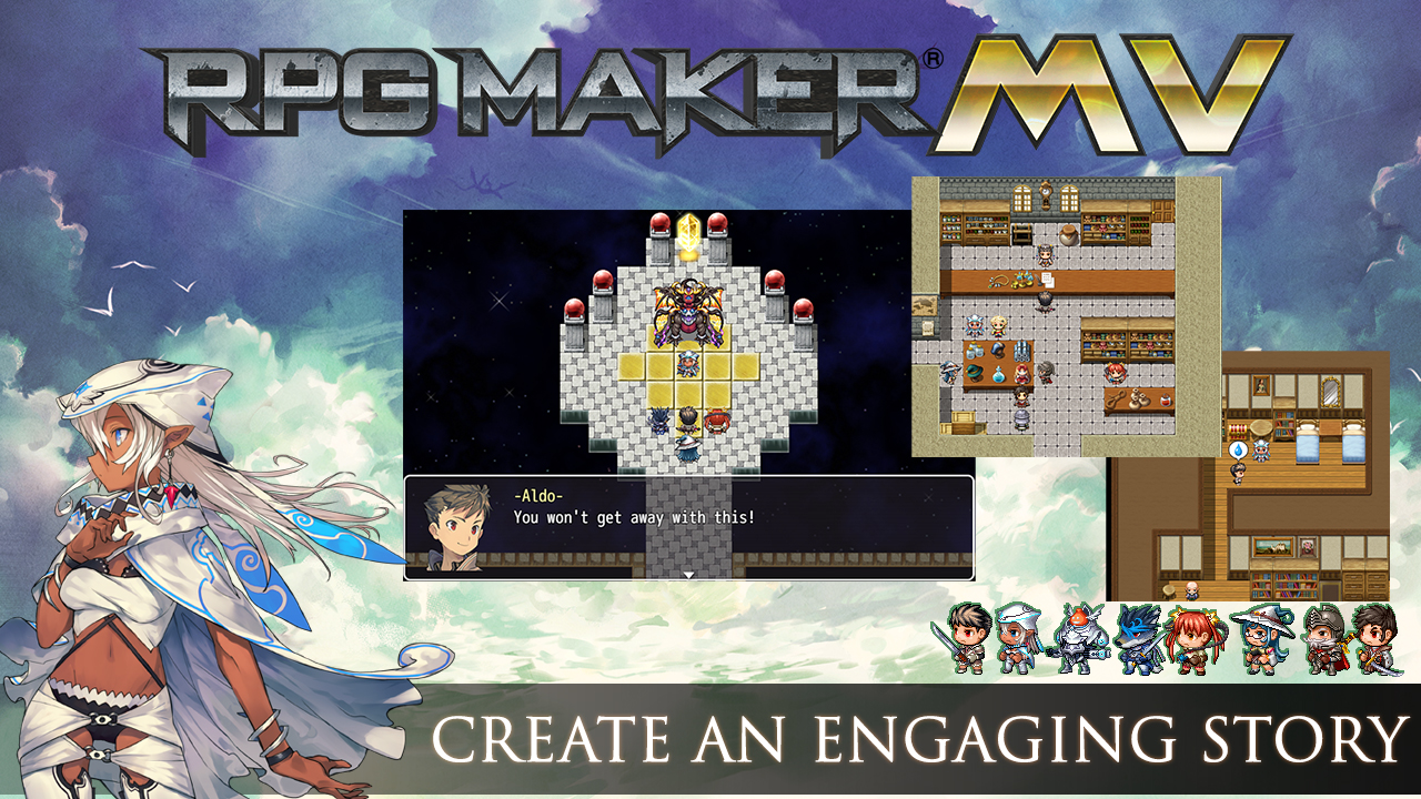 RPG Maker MV- Cover Art Characters & Essentials Set Review Screenshot 2