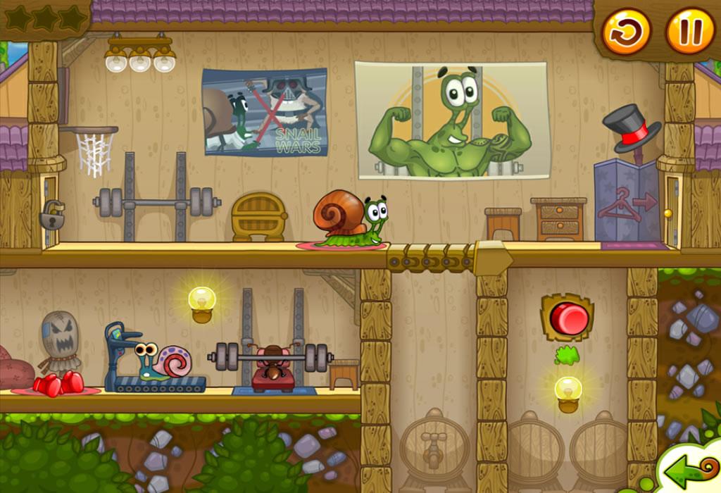 Snail Bob 2 Tiny Troubles Review Screenshot 1