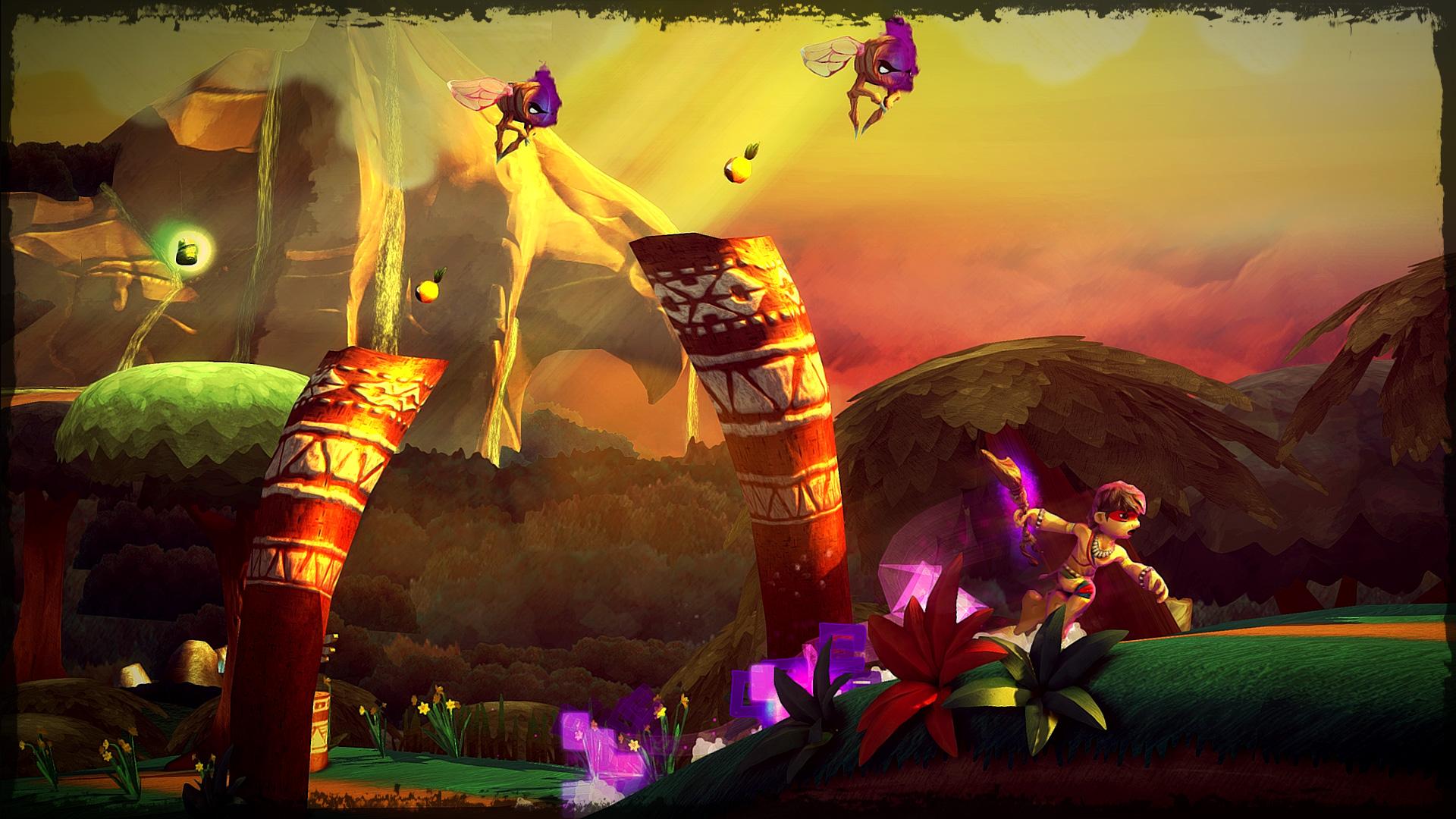 Aritana and the Harpy's Feather Screenshot 1