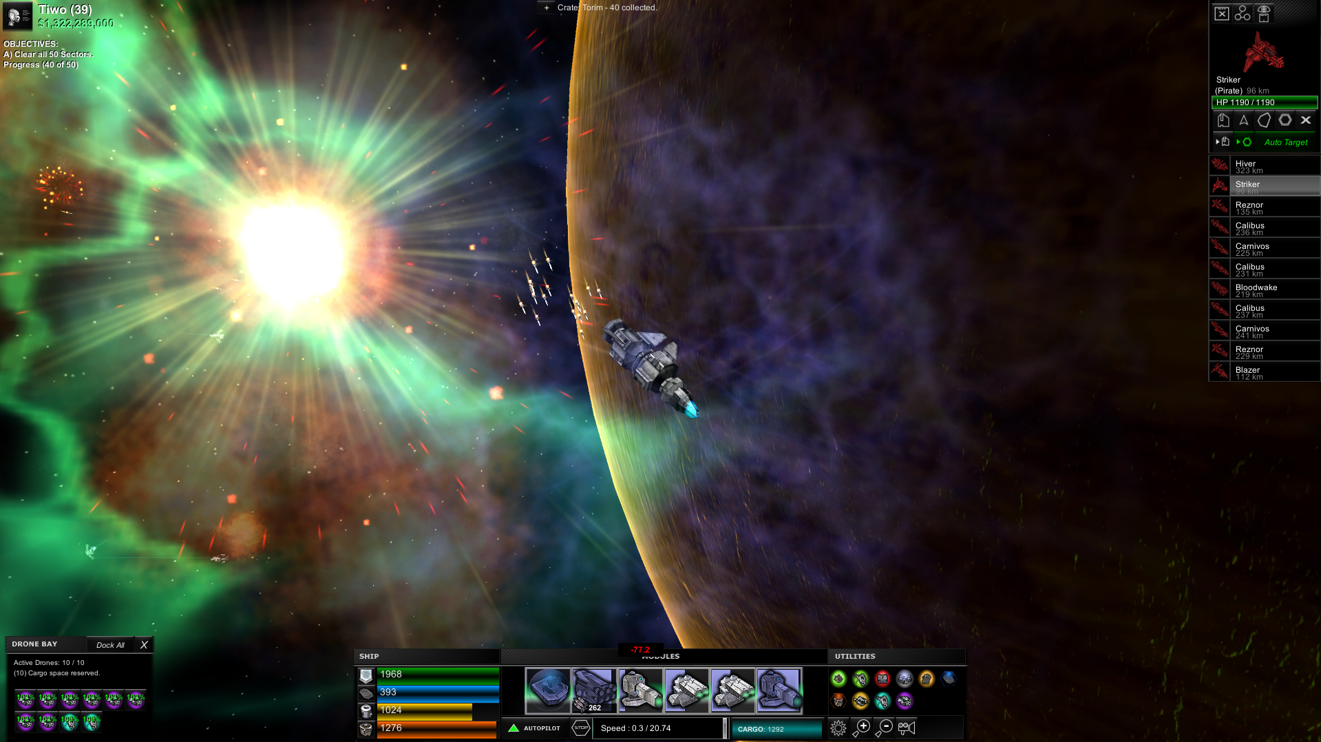 Astrox Hostile Space Excavation Review Screenshot 1