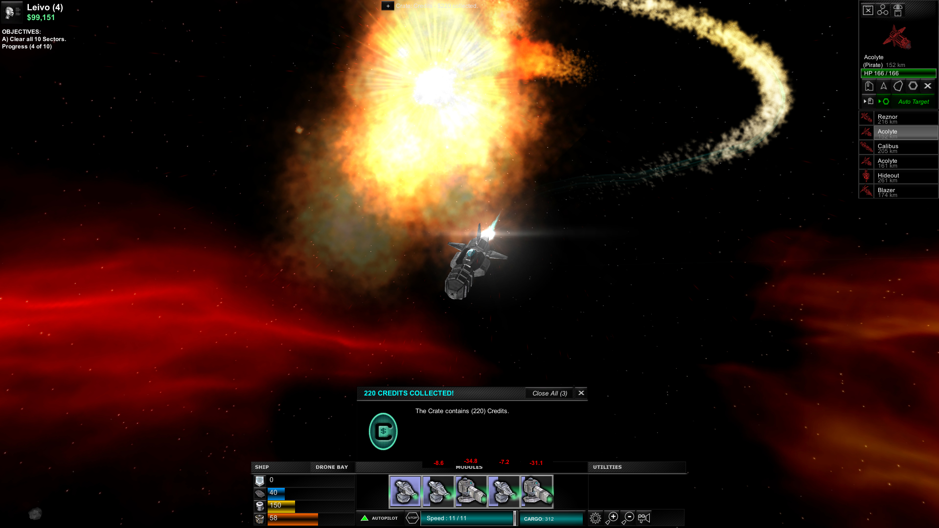 Astrox Hostile Space Excavation Review Screenshot 2