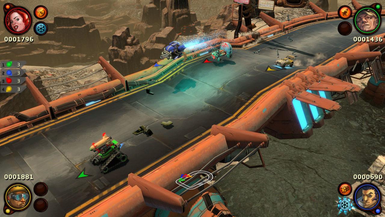 BlazeRush Review Screenshot 1